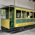 Hannoversches-Strassenbahn-Museum - alte Bahnen