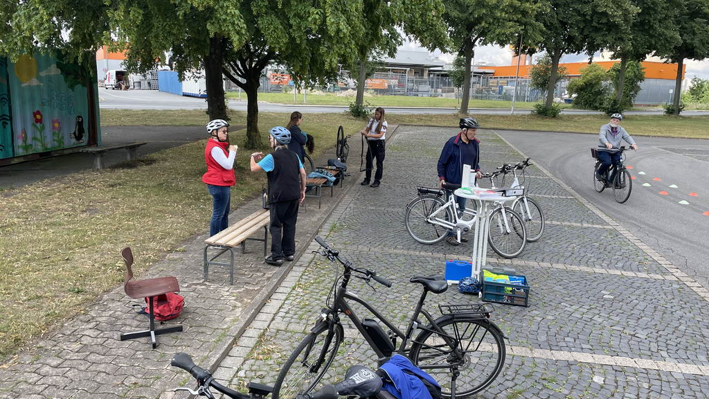 Pedelec-Senioren-Kursus in Lehrte - fachsimpeln