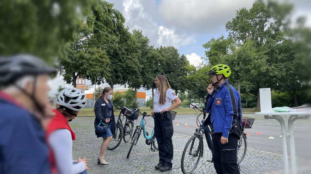 Pedelec-Senioren-Kursus in Lehrte