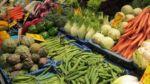 Markthalle einheimische Gemüse und Exoten