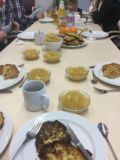 Projekt Kochgruppe Rezept Kartoffelpuffer und Apfelmus