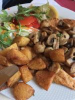 in Gedenken an meinen Papa-Familientreffen beim Spanier in Lauenau - Haehnchen mit Kartoffeln und Pilzen