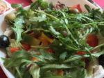 in Gedenken an meinen Papa-Familientreffen beim Spanier in Lauenau - lecker Salat